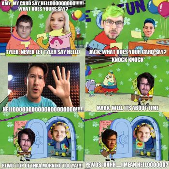What markiplier birthday party look like by aiko-sweetgirl
