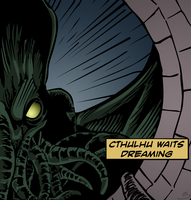 Cthulhu Waits Dreaming by kaolincash