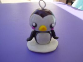 penguin charm by Libellulina