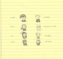Hellsing Chibis by death-in-the-orchard