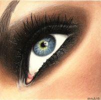Smokey Eye by ArtByOlivia