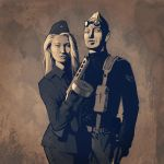 Chris and Rita by DimMartin