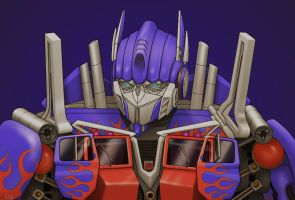 Movie Optimus Prime 1.2 by J-666