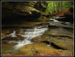 Cascade, Old Man's Cave by MariusStormcrow