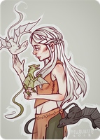 khaleesi by felloliette