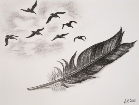 The Feather by Anna-Larie