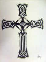 celtic cross 1 by theloneredneck