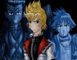 Roxas Appears by LordCavendish