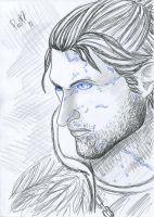 Anders - Justice. Dragon Age II. by polinaart1