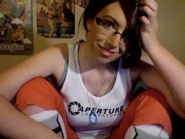 Portal Chell Cosplay 8 by TibsisTops