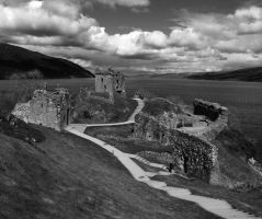 Urquhart Castle by crushedice88