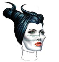 Maleficent, in progress no.2 by TheUglyBlowfly