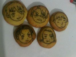 Hetalia Cookies: The Allies by luzzy