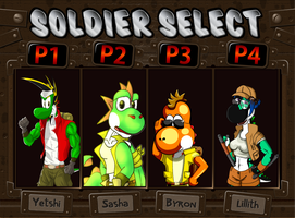 [Collab] Metal Slug Yoshi Select! by Juliannb4