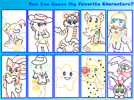 Guess My Favorite Characters-M by Magenta-Fantasies