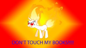 Don't touch Twilights books... by Spiral4