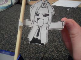 Edward Elric Paper Child 2 by CopperLetters