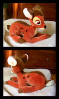 Disney Park Bambi Plush by The-Toy-Chest