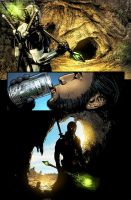 Wolverine: Road to Hell 5 by chadf