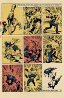 Kirby Capt America ColorsWIP by SpicerColor