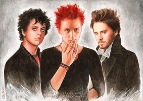 Billie, Matthew and Jared by AuroraWienhold