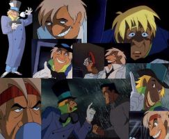Mad Hatter Collage by BTAS