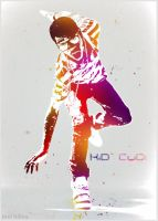 Kid Cudi colorful photo effect by hilleydakid