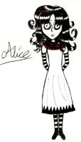 A strange girl called Alice... by Shinigami-Rem-san
