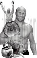 Randy Couture by ShomanArt