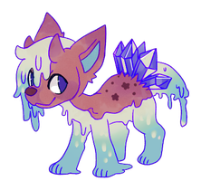 MYO:Slime Rock Pup by Pand-ASS