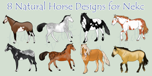 8 Designs for Nekc - Comm - by BettaRae