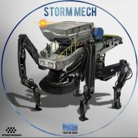 Storm Mech 07102014 by WarrGon