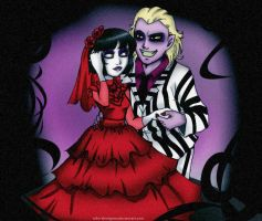 The Groom and the Bride by aiko-shinigami