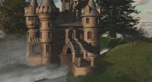 storm castle by fractal2cry