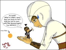 Altair does WHAT to Malik? by jaderotaski