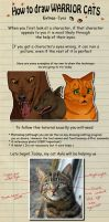 How to draw Warrior Cats eyes by heylorlass