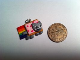 Nyan Cat Charm ~$2 by Jenna7777777