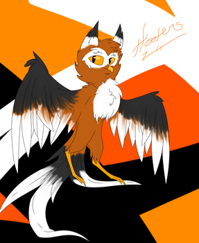 Hooters Owl by Wolffire125