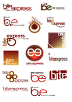 Bite Express Trial Logos by ubikdesign