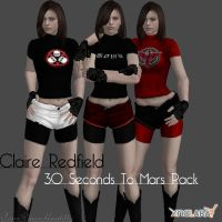 Claire Redfield 30STM pack by IamRinoaHeartilly