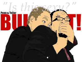 """Penn - Teller """"Is this sexy?"""" by Musicislife4297"""