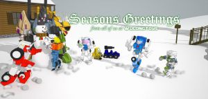 Seasons greetings by wulongti