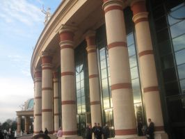 Old Trafford Centre,Manchester by sillysammy