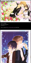 Kaichou wa Maid-Sama - Journal Skin by drawwithme15