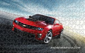 Camaro Puzzle Effect With Photoshop by andremirandarosa