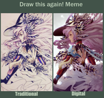 Traditional vs Digital by Teaserd