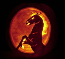 Night Mare Jack-O-Lantern by Ranasp