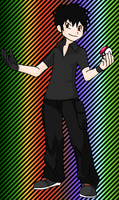 Me as a pokemon trainer by Chidori1334