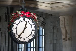 Union Station Clock by TheBirdsFeathers