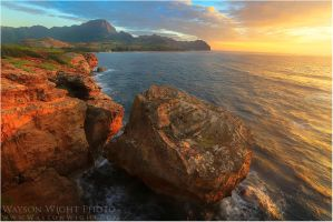 Kauai Sunrise by tourofnature